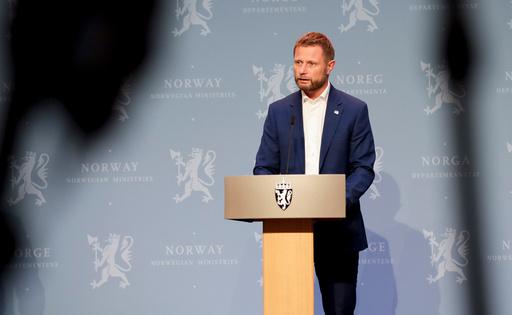 Oslo 20200928.  Helse- og omsorgsminister Bent Høie på regjeringens pressekonferanse om koronasituasjonen. Foto: Vidar Ruud / NTB