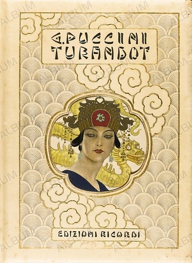 Book cover of Turandot by Giacomo Puccini.