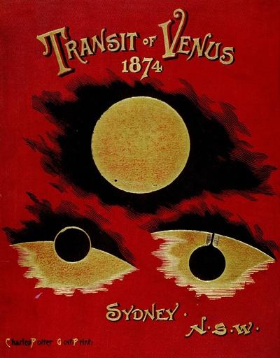 Transit of Venus, 1874