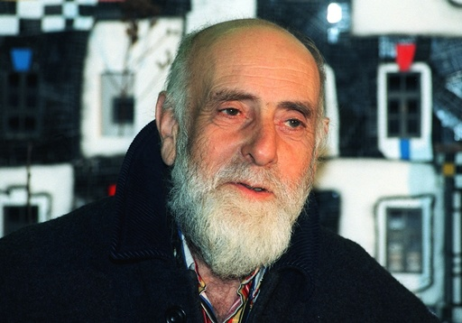 Painter Friedensreich Hundertwasser died on a cruise