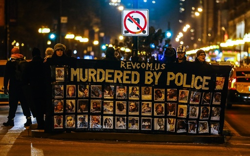 Protests erupt over video release of Chicago police officer Jason Van Dyke.