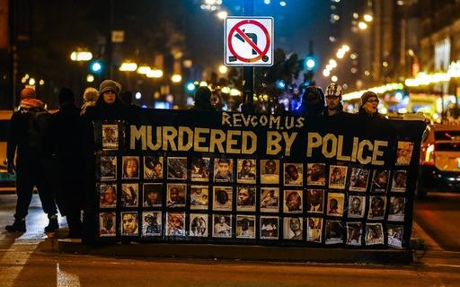 Protests erupt over video release of Chicago police officer Jason Van Dyke.