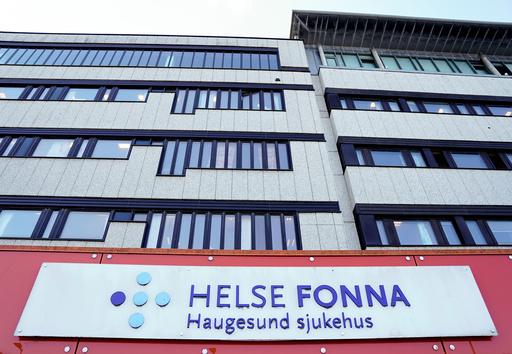 Haugesund sjukehus har to koronasmittede personer innlagt. Illustrasjonsfoto: Jan Kåre Ness / NTB scanpix