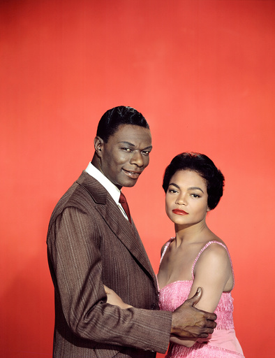 Nat 'King' Cole, Eartha Kitt, ST. LOUIS BLUES, 1958.