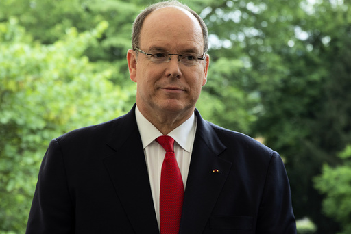 Prince Albert II Of Monaco Visiting Longjumeau