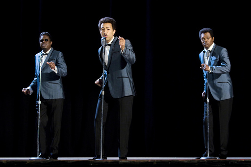 SOUL MEN, from left: Bernie Mac, John Legend, Samuel L. Jackson, 2008. ©Dimension Films/courtesy Eve