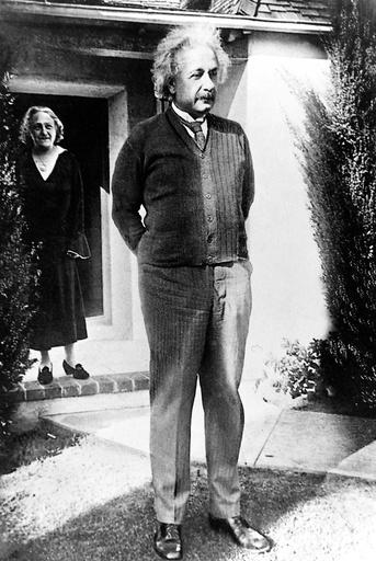 Physicist Albert Einstein 1879 - 1955