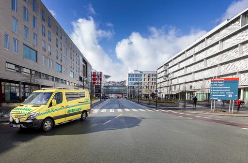 Trondheim  20190322. St. Olavs hospital HF er et av Norges største helseforetak og er en sammenslutning av alle offentlige sykehus i Sør-Trøndelag. Det meste av virksomheten er samlet på Øya i Trondheim hvor et av Nord-Europas mest moderne sykehus ble bygd i perioden 2005 til 2013. Foto: Gorm Kallestad / NTB