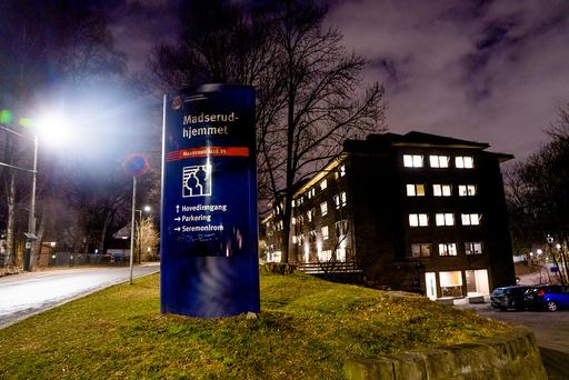 En koronasmittet beboer døde på Madserudhjemmet i Oslo torsdag forrige uke. Foto: Stian Lysberg Solum / NTB