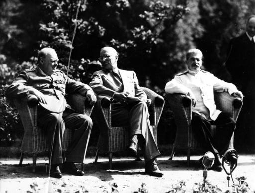 The 'Big Three' at Potsdam Conference