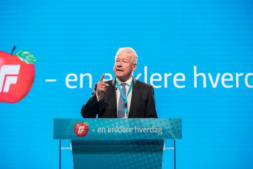 Frp landsmøte 2018.
