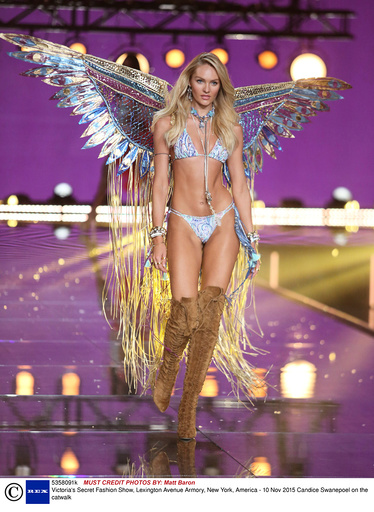 Victoria's Secret Fashion Show, Lexington Avenue Armory, New York, America - 10 Nov 2015