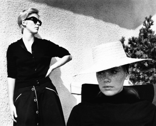 PERSONA, from left: Bibi Andersson, Liv Ullmann, 1966